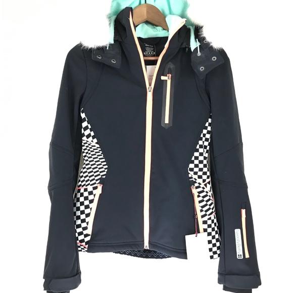 0c18dc32fdd Sweaty Betty Exploration Soft Shell Ski Jacket XS